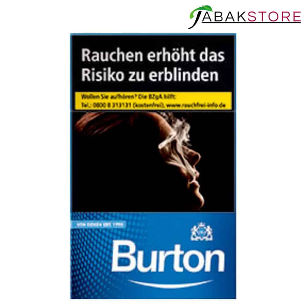 Burton Blue L Zigaretten 6,00€