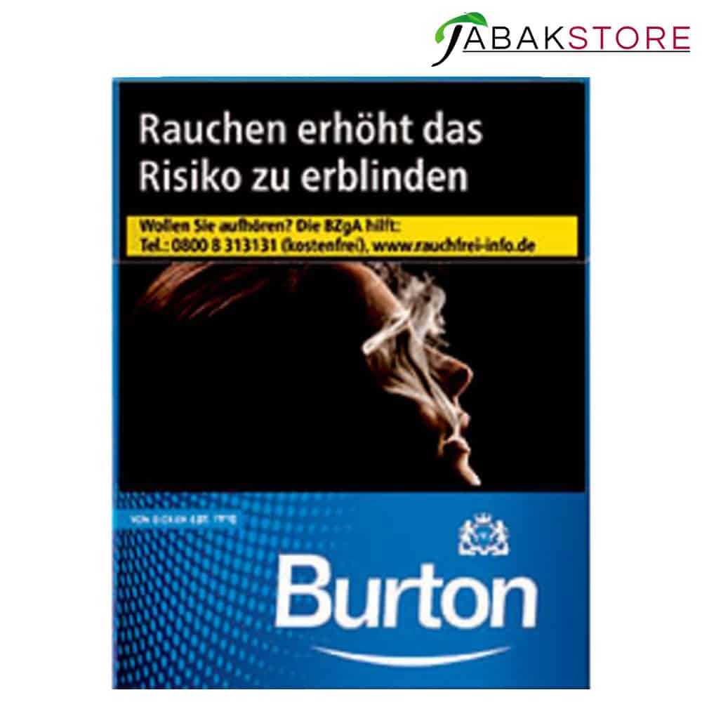 Burton Blue XL Zigaretten 7,00€