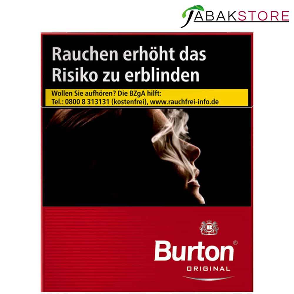 Burton Red XXXL Zigaretten 10,50€