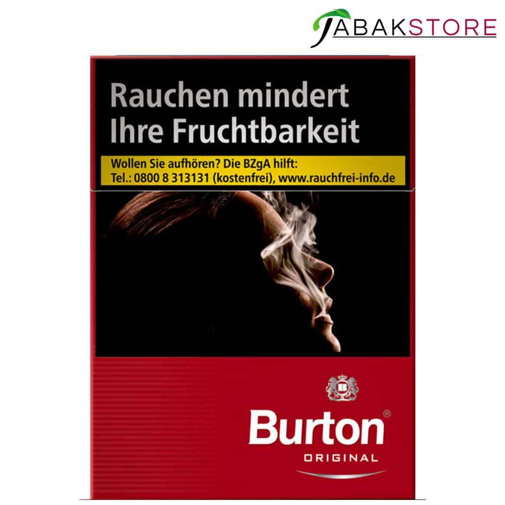 Burton Red XXL Zigaretten 8,00€