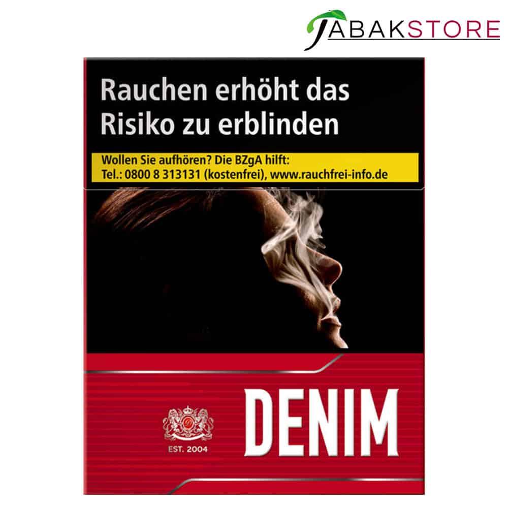 Denim-Red-XL
