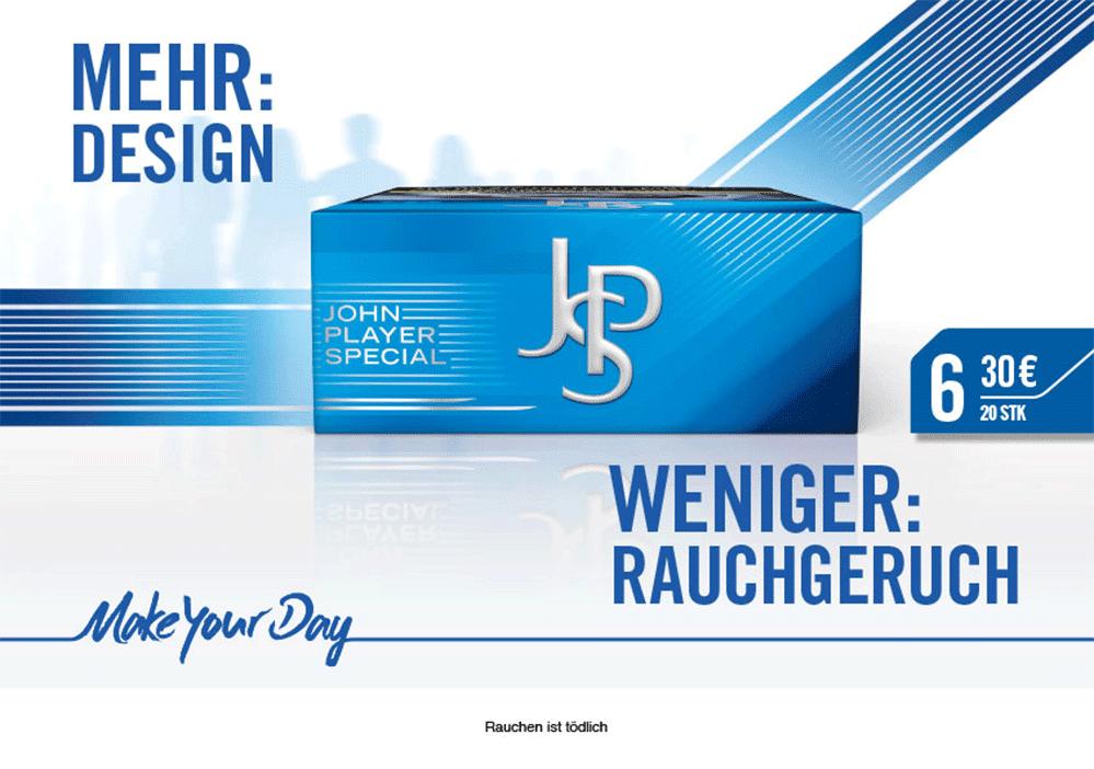 John Player Blue 6,30€