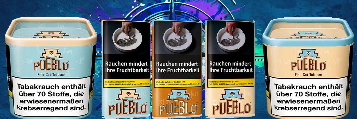 Alle Sorten vom Pueblo Tabak