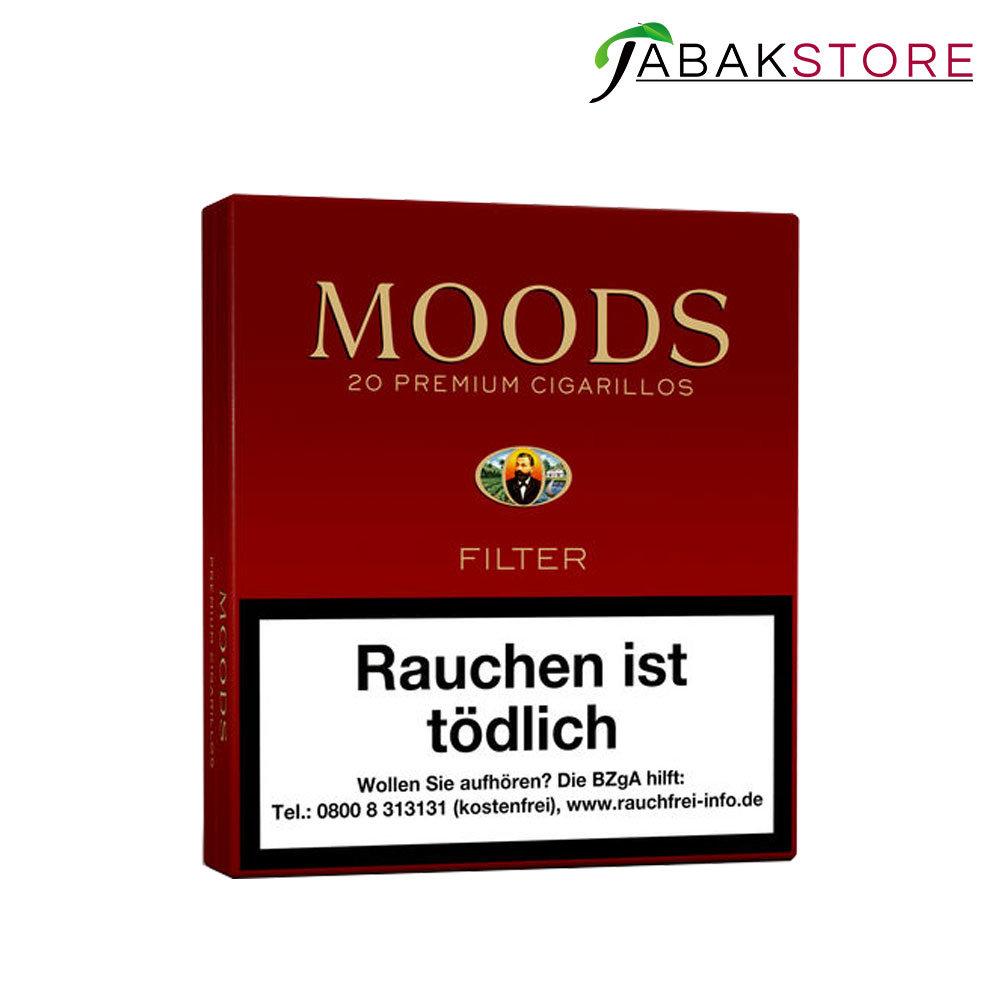 Dannemann-Moods-Zigarillos mit Filter