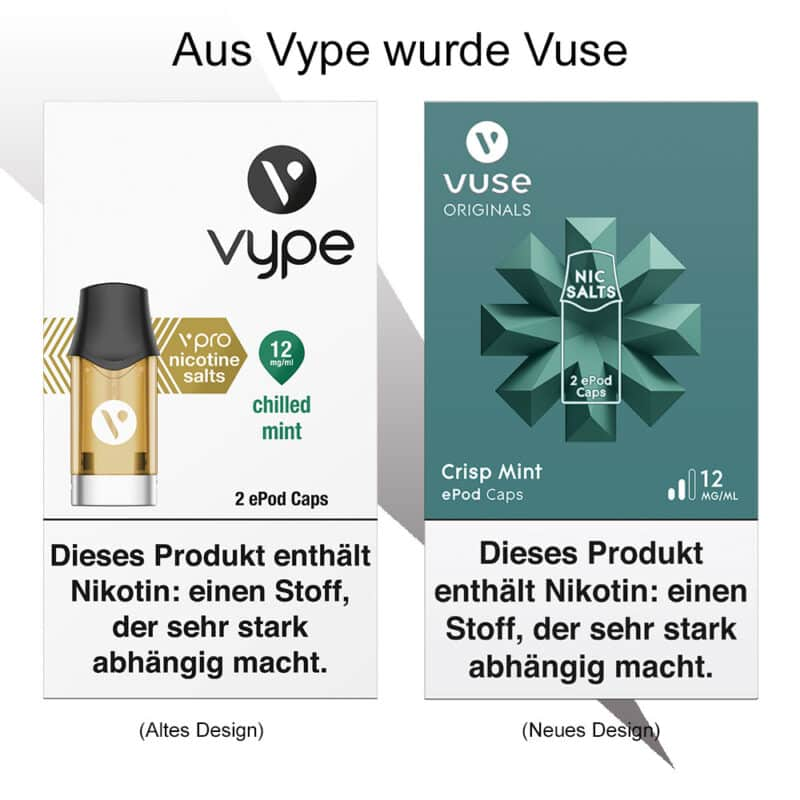 Vype-altes-Design-vs-Vuse-neues-Design