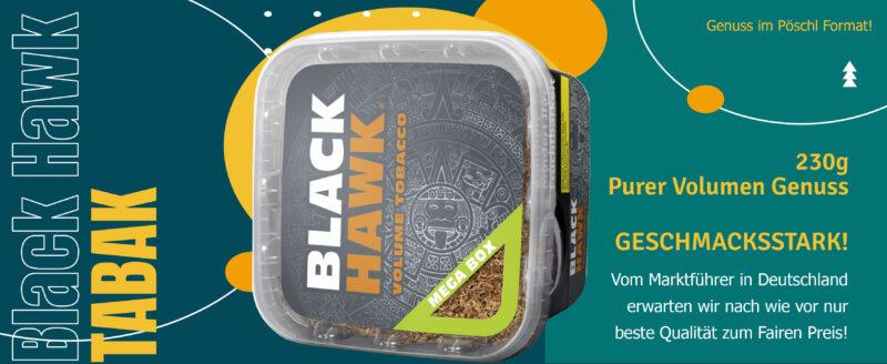Black Hawk Tabak im neuen Design