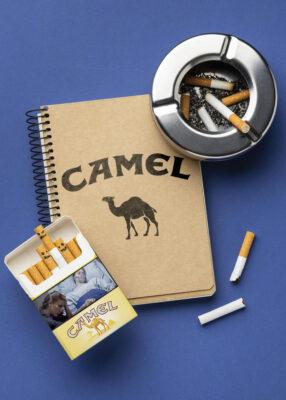 Camel Tabak und Zigaretten Notizbuch von Tabakstore