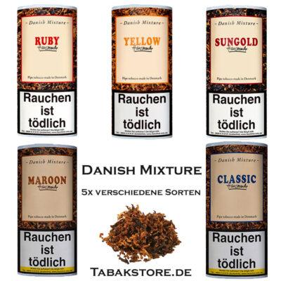 Danish-Mixture-Pfeifentabak 50g sorten